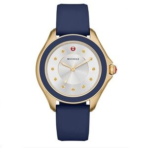 Michele Watch Cape Collection Silicone Band Women